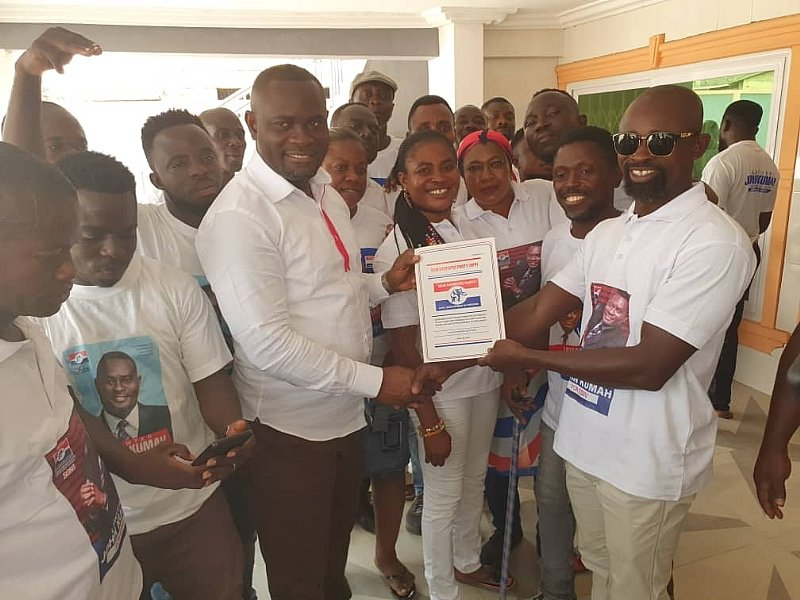 Ejisu Constituency: NPP Delegates Pick Nomination Forms For NEIP Boss