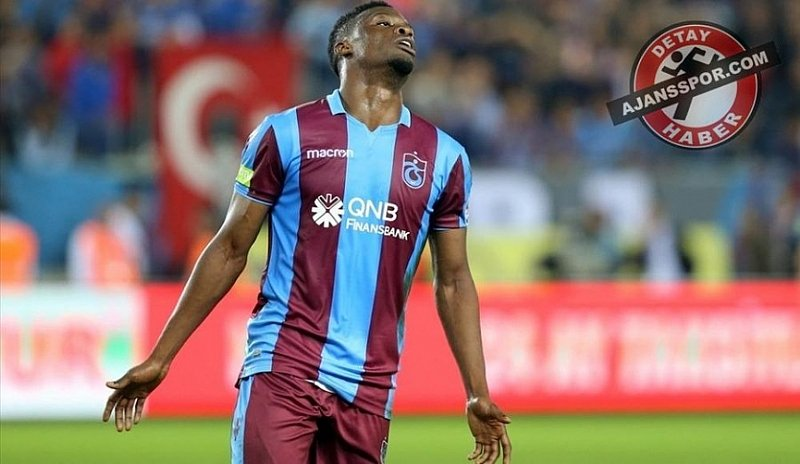 Caleb Ekuban Comes Off The Bench To Scores His Third Goal Of The Season For Trabzonspor