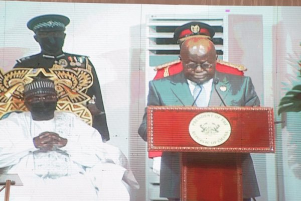 Akufo-Addo pledges national unity as he begins second term