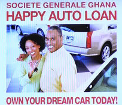 societe generale ghana lauches happy auto loan. Black Bedroom Furniture Sets. Home Design Ideas