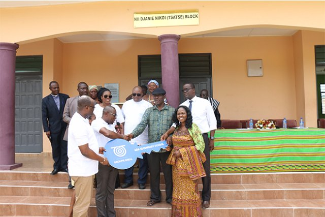 Modern Classroom Blocks : Groupe ideal officially hands over six unit classroom