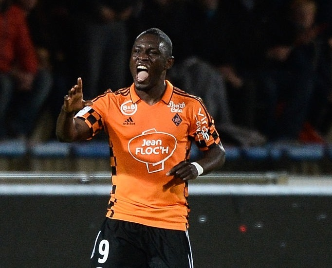 ghana striker majeed waris nominated for lorient player of the month. Black Bedroom Furniture Sets. Home Design Ideas