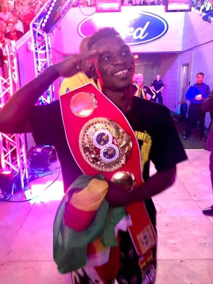 GOC Salutes New IBF Champion Commey