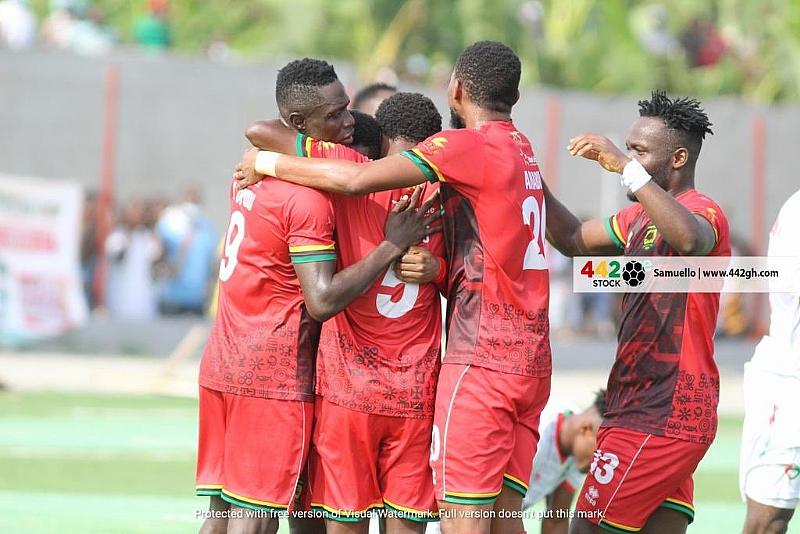 GHPL: Asante Kotoko takes top spot after beating Karela United 2-0