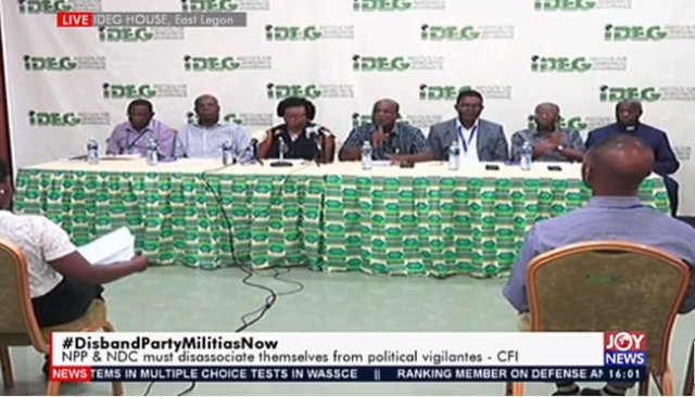 12 CSOs Pooh-Phoored Akufo-Addo's Bipartisan Approach To Party Militias
