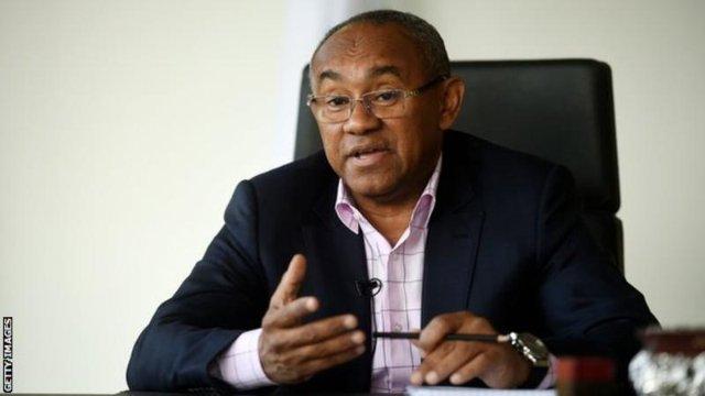 Caf President Ahmad Belatedly Receives US Visa