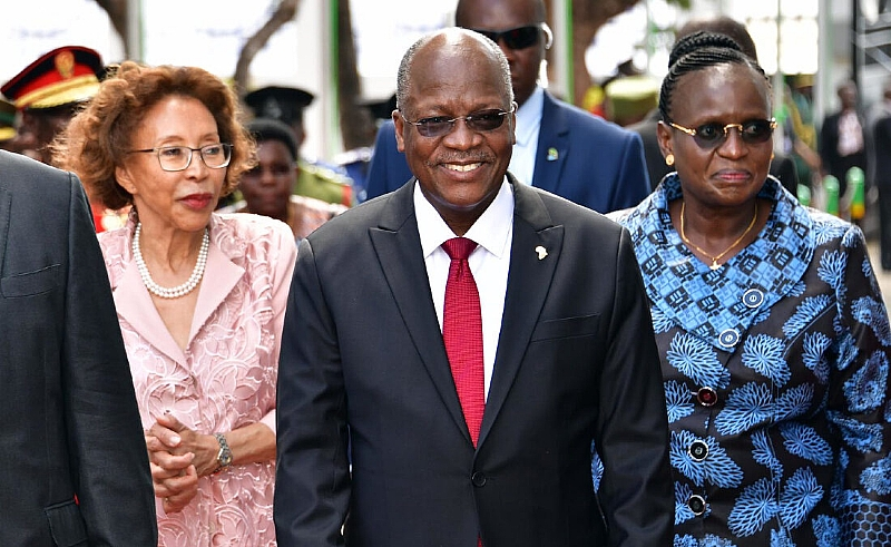 He Loved Morning Sex - Tanzanias 1st Lady Eulogises