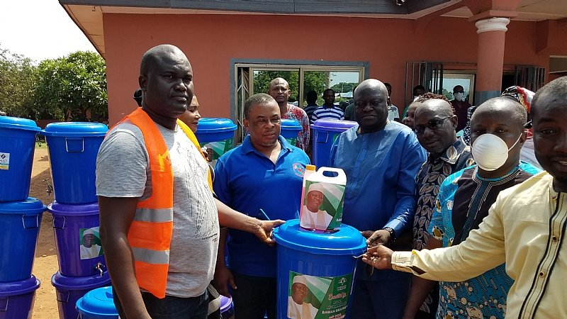 Ejura MP Donates To Ejura Government Hospital, Other Departments