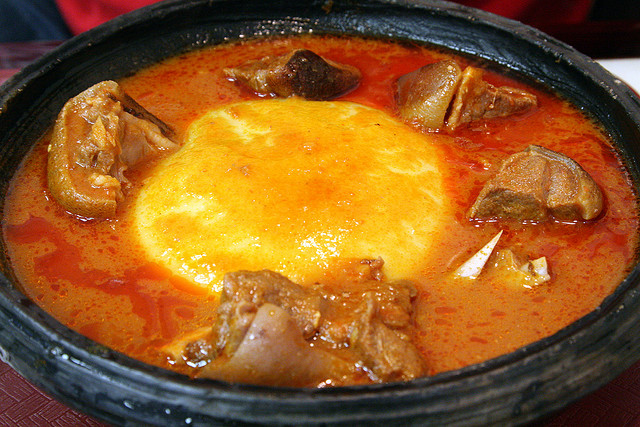 Image result for big bowl of fufu