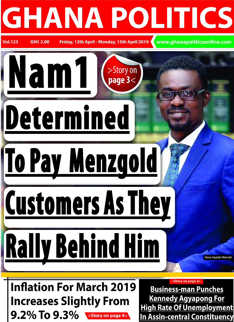Menzgold Customers Court Love For NAM1