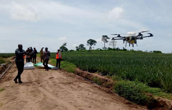 Ghana Begin Drones In Farming