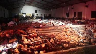 Pentecost Church Collapse Kills 13