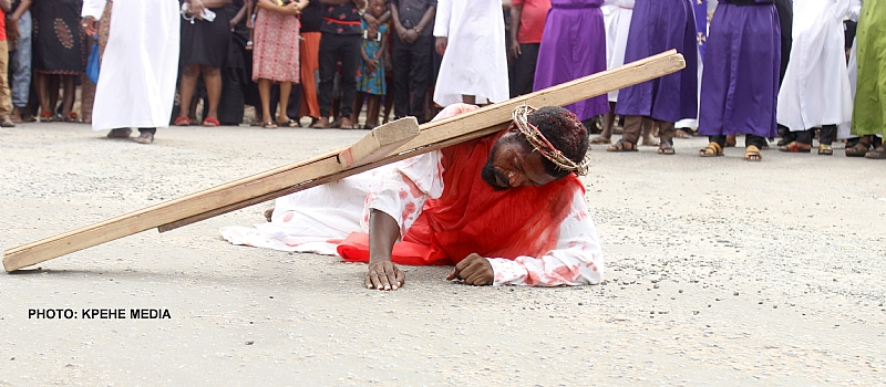 St Paul's Kpehe Mark Passion Of Christ With Drama