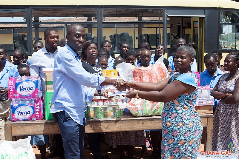 Takoradi: Catholic Special Vocational School Gets Support From Ghana Gas