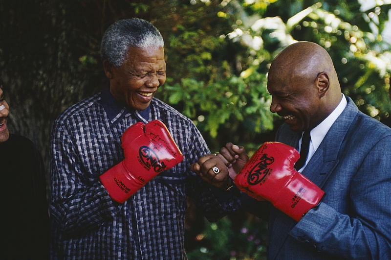 How Mandela stayed fit: from his 'matchbox' Soweto home to a prison cell