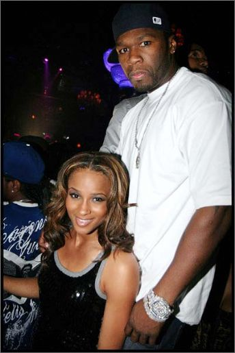 50 cent and ciara couple