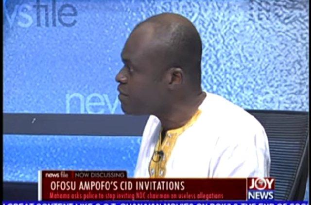 CID invitation: Ofosu-Ampofo Should Be Treated With Dignity— Kpebu