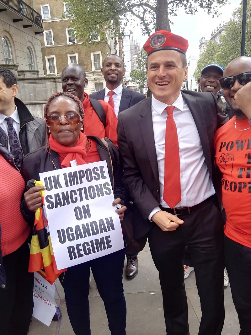 Campaign To Sanction Uganda's Museveni Gathers Support As British Lawmakers Join