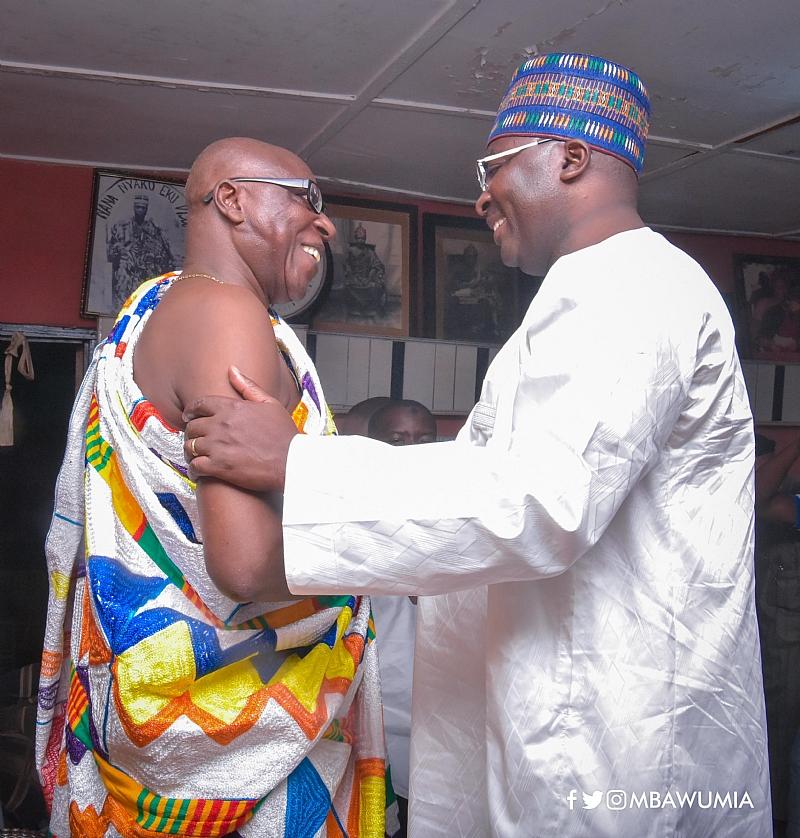 Bawumia Was The Right Choice—Nyakrom Paramount Chief To Akufo-Addo