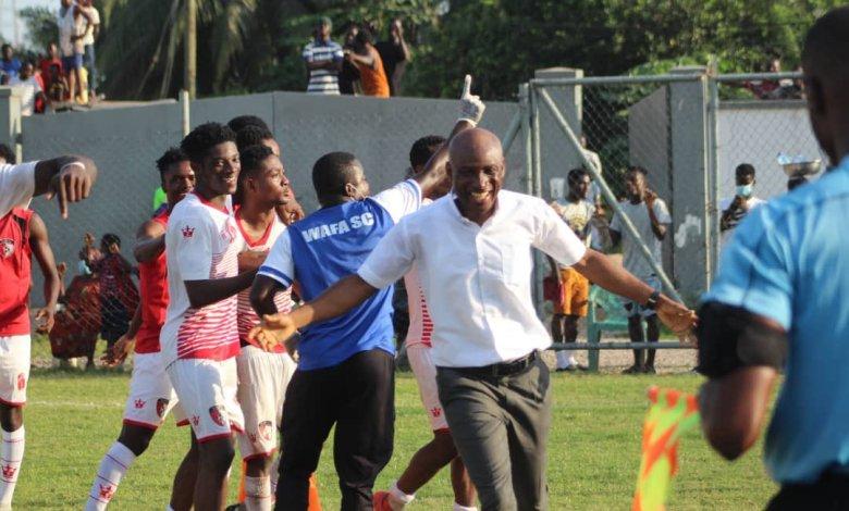 We are improving - WAFA coach Prosper Narteh Ogum