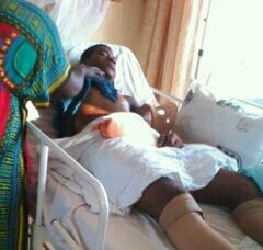 Terrifying: Swedru SHS Student Who Got His Spine Twisted During School Games Left Paralysed