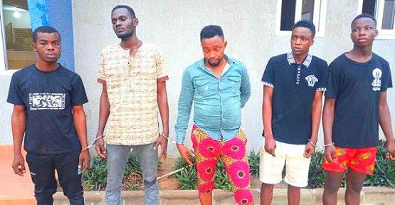 Arrested Armed Robbers - Congratulations, Ghana Police