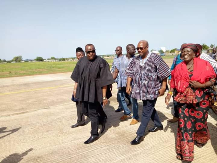 Mahama Mourns With Family Of Late NDC Chairman