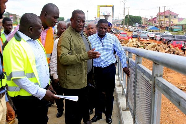 Madina-Adenta Footbridges Are Disability Friendly, 100% Safe —Minister