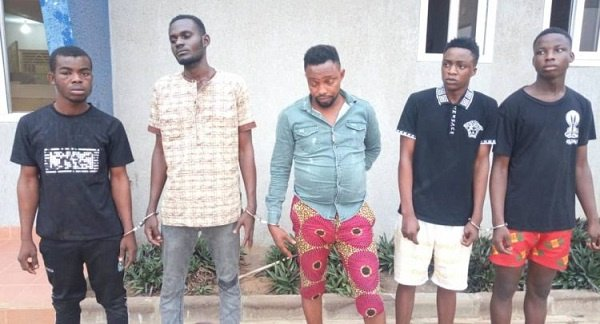 5 Nigerians Nabbed For Allegedly Raping Woman In Robbery Attack