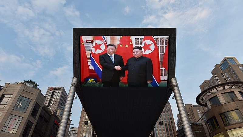 North Korea rolls out the red carpet for China's Xi Jinping
