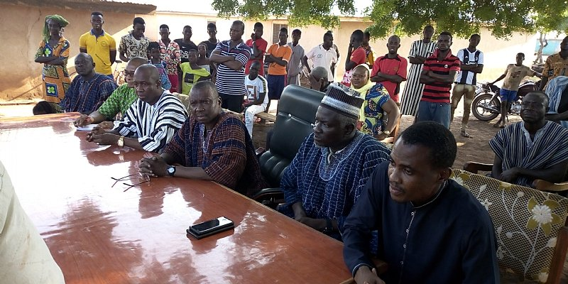 Savannah Regional Minister embarks on familiarization tour at Central Gonja District