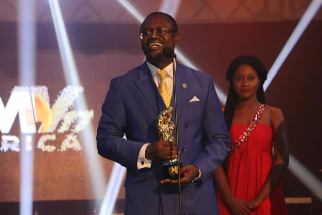 Dr Joseph Siaw Agyepong awarded Man ef the Year, by EMY Africa Awards 2017