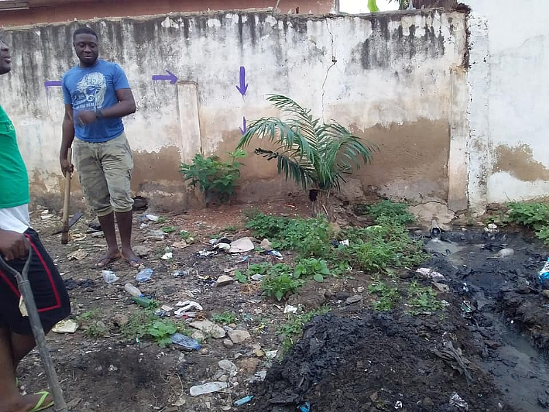 Coral Avenue Street Residents Embark On Clean-up Exercise