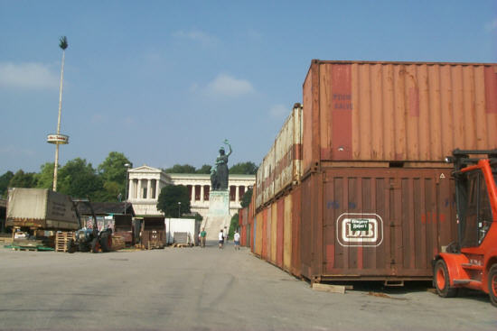 Why is ghana embassy in berlin still in a container for Consul container