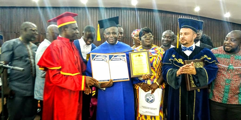 Frank Adjei, Others Get Honorary Doctorate Degrees