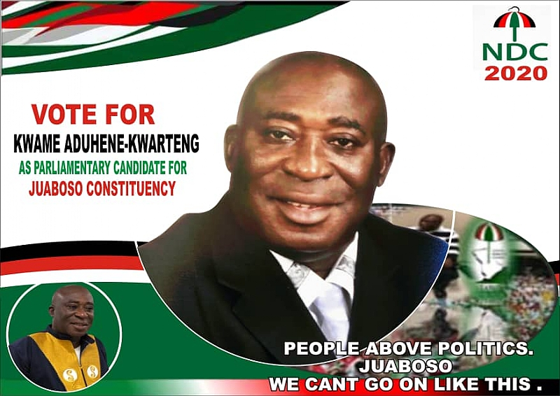 NDC Parliamentary Primaries: Washington Man Joins Race