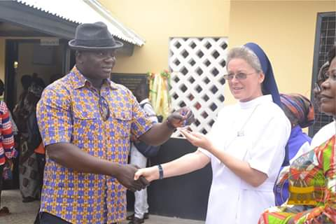 E/R: Bryan Acheampong Commissions Ultra-Modern Health Facility At Kwahu Tafo
