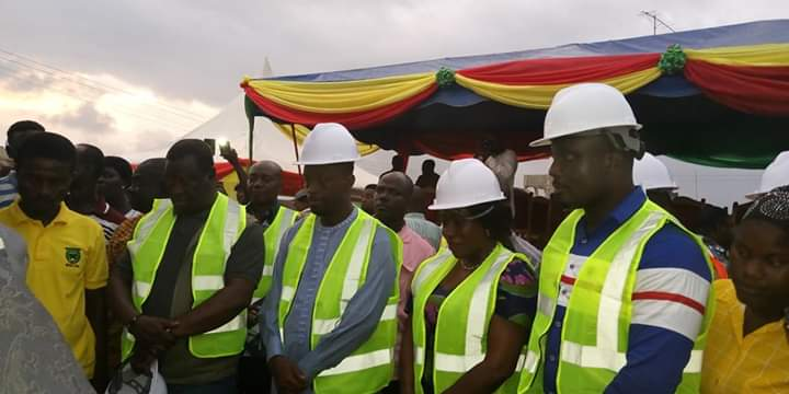 Gov't Begins Work On Nsein Township Roads