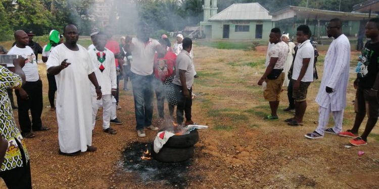 Asawase: Disgruntled aspirant's supporters petition NDC's NEC