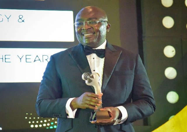 Vice President Dr Bawumia adjudged Digital Leader of the Year