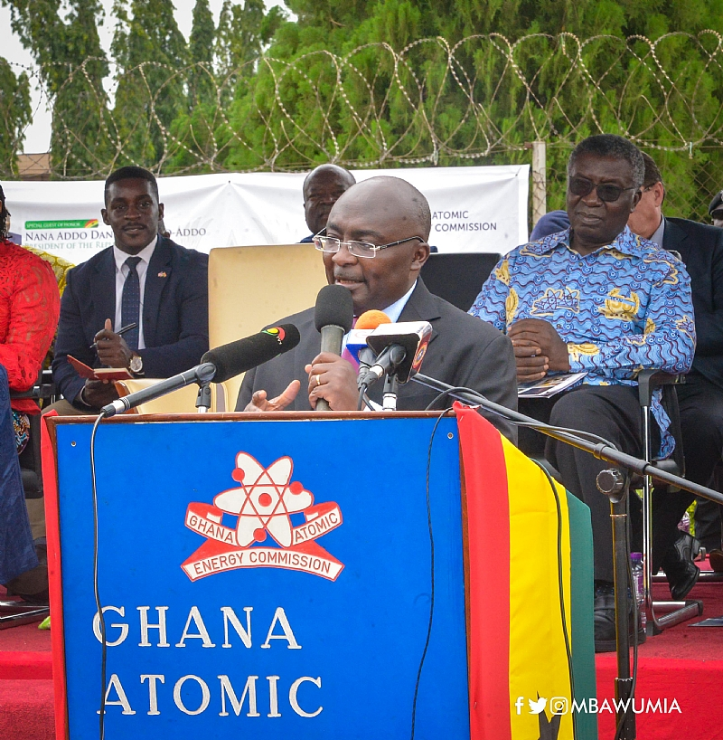 Ghana Atomic Energy Commission Is Global Leader In Nuclear Research–Bawumia