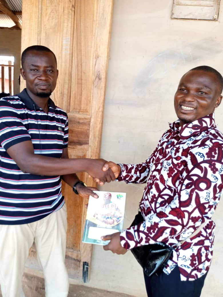 Asante Akyem North: KuYA Executive Donates To Two Schools In PKK