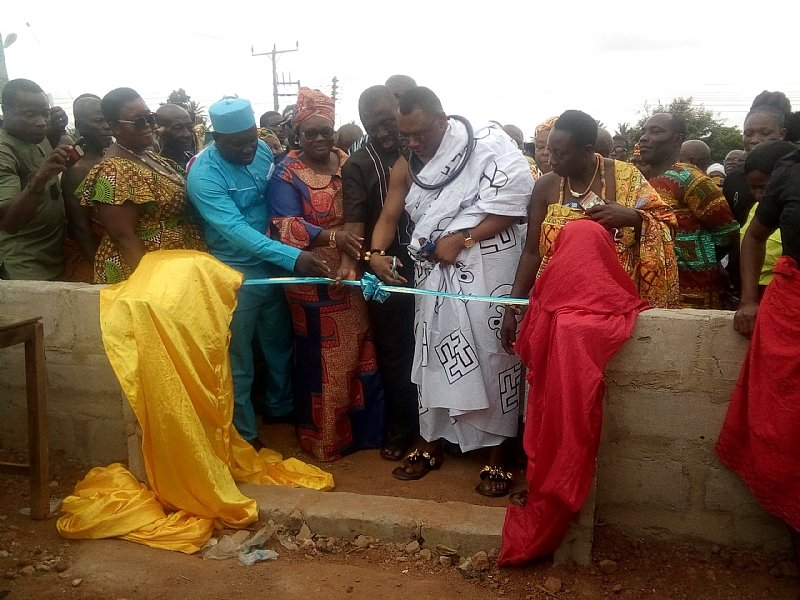 Gomoa Central Assembly Commissions New Market, Lorry Station For Afransi