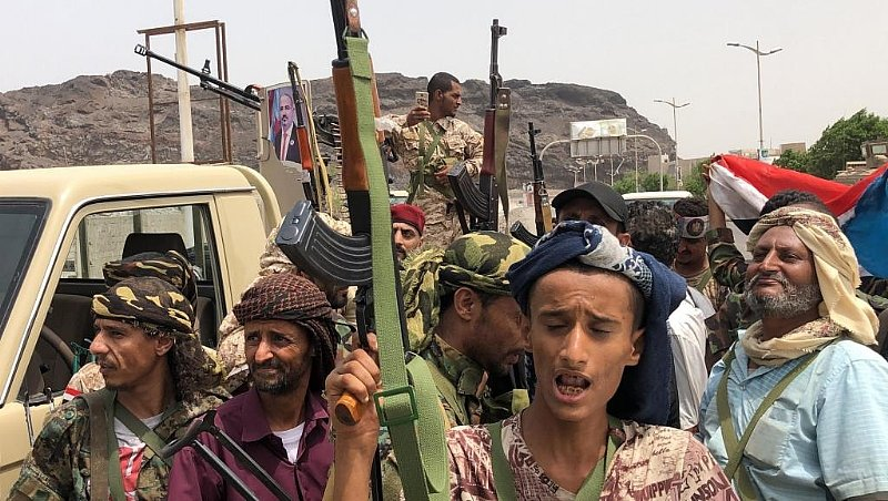 Yemen presidential palace under control of separatists