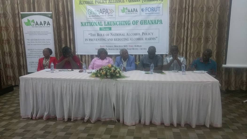 Ghana Alcohol Policy Alliance Launched