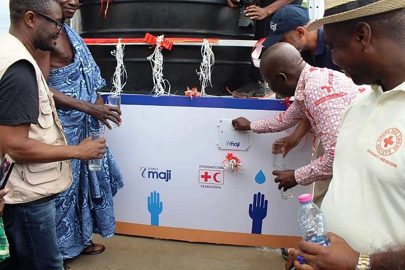 Nestlé partners Red Cross Society in community water project