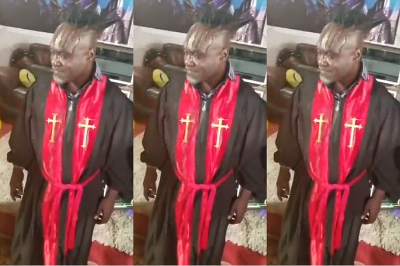 [Video] Countryman Songo Ordained As Pastor