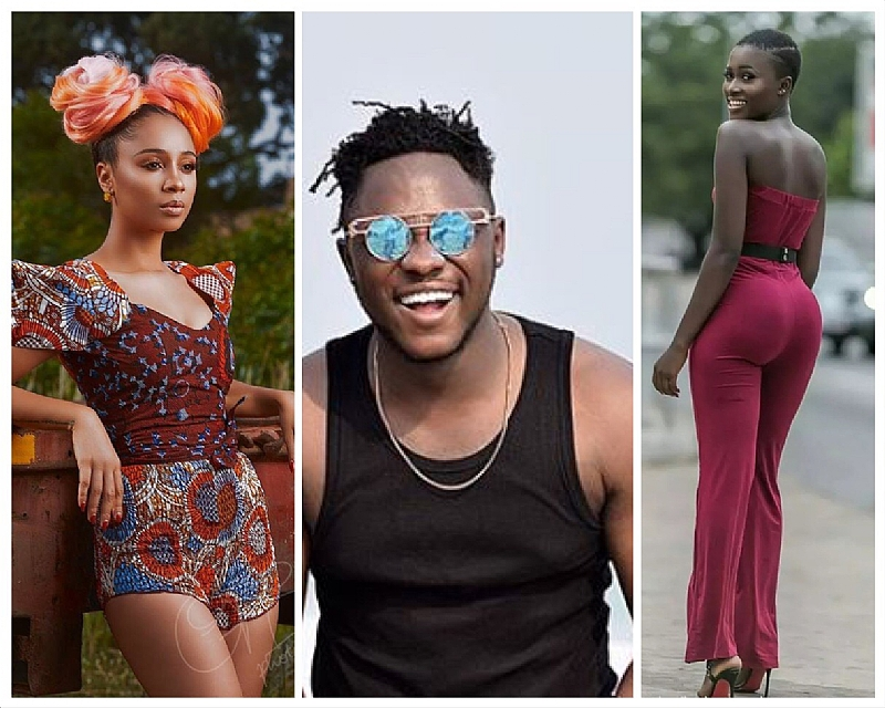 Medikal, Fella Makafui and Sister Derby performed on one stage in Amsterdam