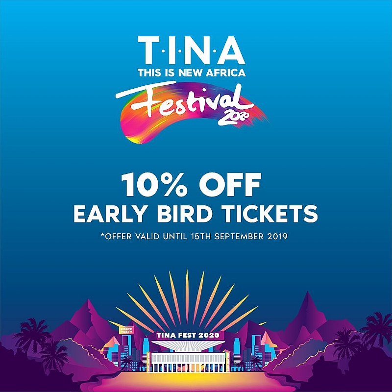 FUSE ODG's TINA Festival 2020 Website Launch And Early Bird Ticket Promo