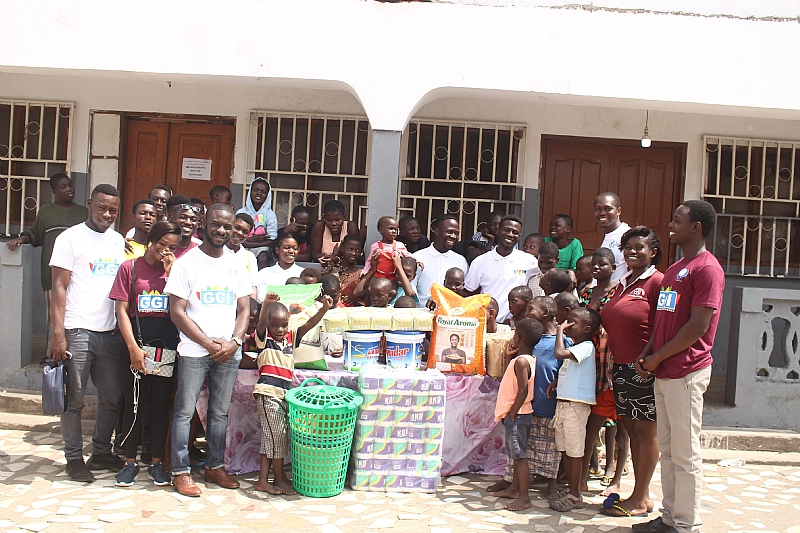 Go Ghana International Donates to the Save them Young Mission Orphanage Home (Tema) On International Youth Day